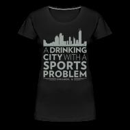 Women's T-Shirts ~ Women's Premium T-Shirt ~ Welcome to Chicago