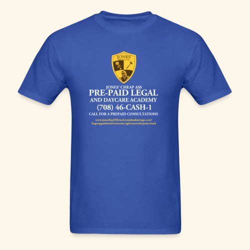 Jones Prepaid Legal Shirt  - Men's T-Shirt