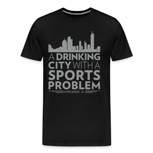 Welcome to Chicago - Men's Premium T-Shirt