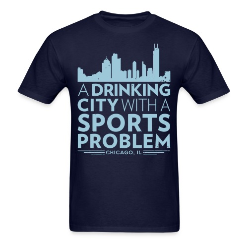Welcome to Chicago - Men's T-Shirt