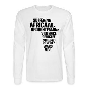AOI- AFRICA  - Men's Long Sleeve T-Shirt