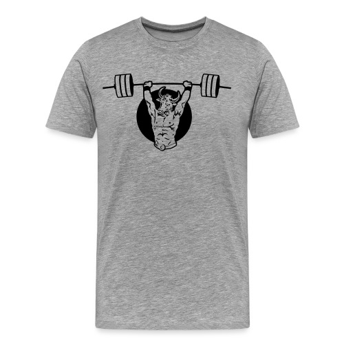 Mighty Minotaur Men's Premium Tee - Men's Premium T-Shirt