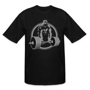 Gorilla Lifting Men's TALL Tee - Men's Tall T-Shirt