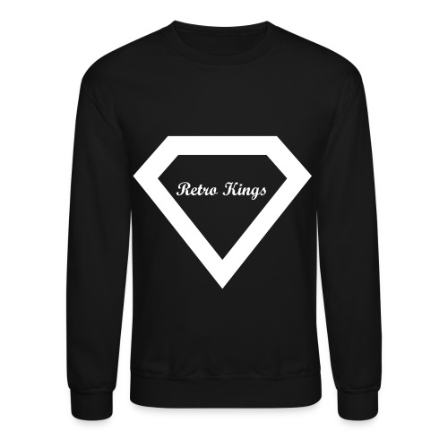 Retro Kings Diamond CrewNeck - Crewneck Sweatshirt