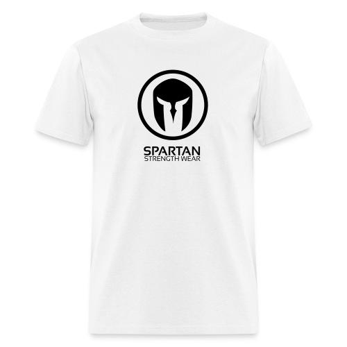 Spartan Logo Tee (Black) - Men's T-Shirt