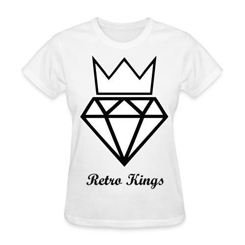 Retro Kings Diamond Crown T-Shirt - Women's T-Shirt