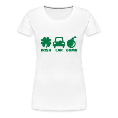Irish car bomb Women's T-Shirts