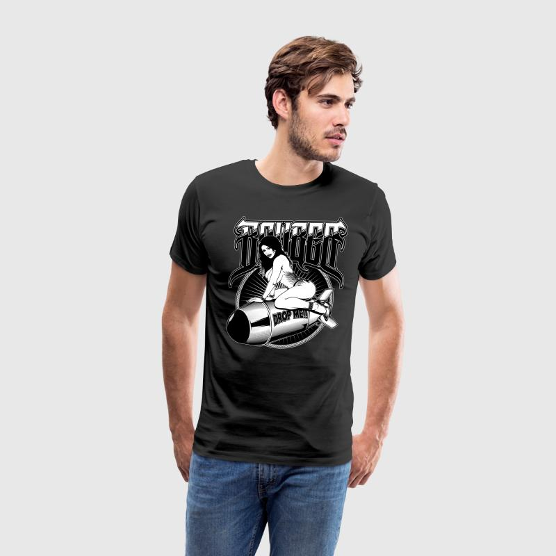 Bomber Girl T-Shirts - Men's Premium T-Shirt