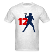 T-Shirts ~ Men's T-Shirt ~ Brady SUPERSTAR #12 Patriots Shirt