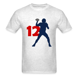 Brady SUPERSTAR #12 Patriots Shirt - Men's T-Shirt