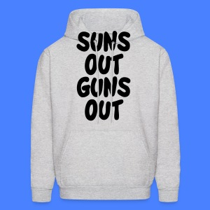 Suns Out Guns Out Hoodies - Men's Hoodie