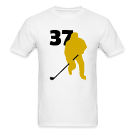 T-Shirts ~ Men's T-Shirt ~ Bergeron SUPERSTAR #37 Bruins Shirt