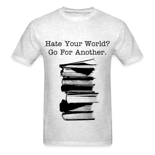 Hate The World! - Men's T-Shirt