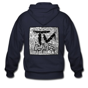 TV is for losers - Men's Zip Hoodie