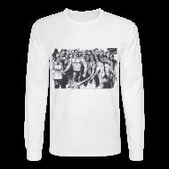 Long Sleeve Shirts ~ Men's Long Sleeve T-Shirt ~ Sillo Guys Long Sleeve