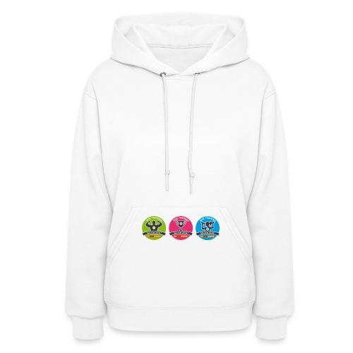 w3devcampus_badges_white_shirt_2 - Women's Hoodie