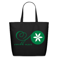 Bags & backpacks ~ Eco-Friendly Cotton Tote ~ Earth User