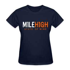 VICTRS Women's Mile High State of Mind Shirt - Women's T-Shirt