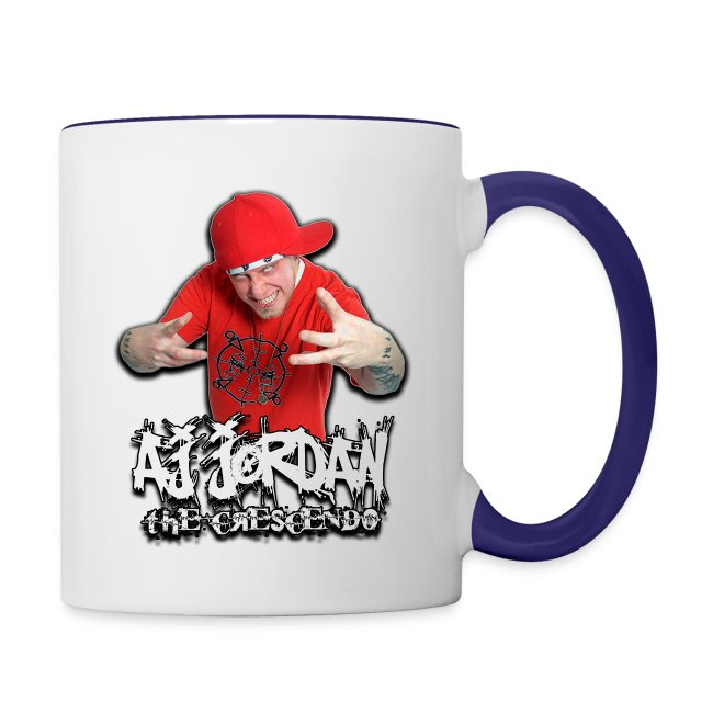 AJ Jordan Wrap Around 3 Character Coffee Mug
