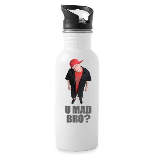 AJ Jordan U Mad Bro? Sport's Bottle - Water Bottle