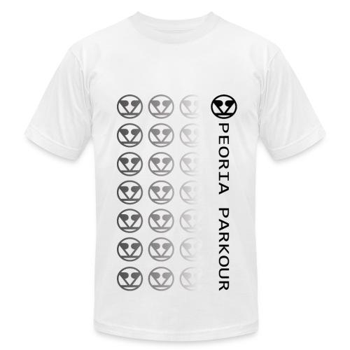 PPK Black Logo Fade - Men's  Jersey T-Shirt