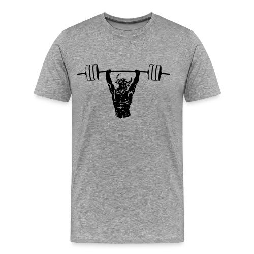 Mighty Minotaur Men's Performance Tee - Men's Premium T-Shirt