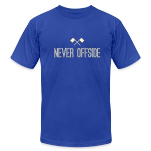 Never Offside Men's Tee - Men's T-Shirt by American Apparel