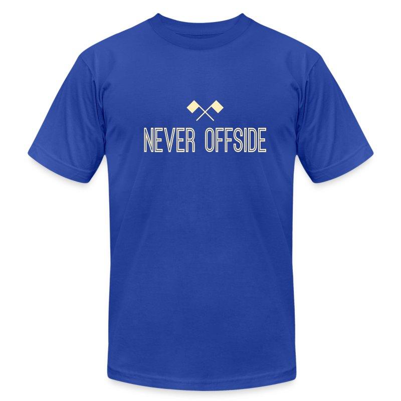Never Offside Men's Tee - Men's Fine Jersey T-Shirt