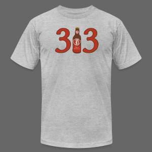 313 Pop - Men's T-Shirt by American Apparel