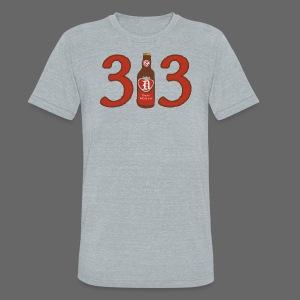 313 Pop - Unisex Tri-Blend T-Shirt