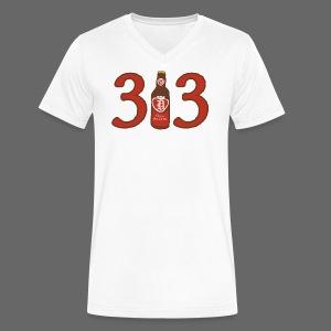 313 Pop - Men's V-Neck T-Shirt by Canvas