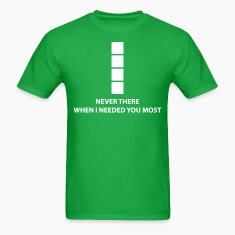"Tetris ""Never There When I Needed You Most"" T-Shirts"