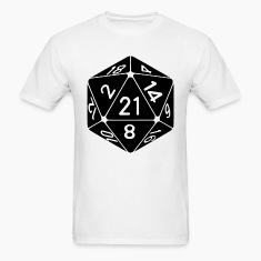 21 Sided 21st Birthday D20 Fantasy Gamer Die