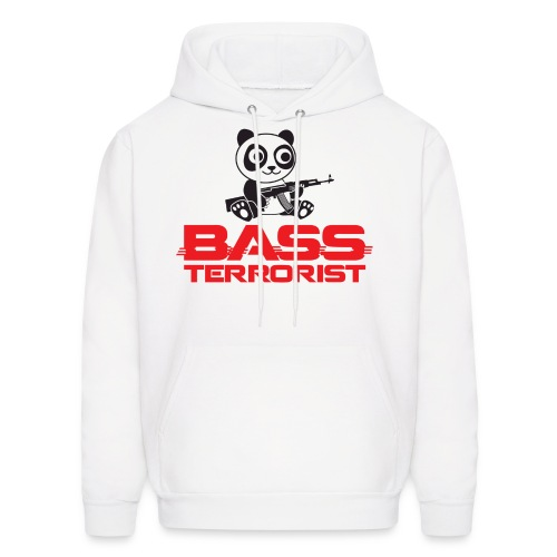 Bass Terrorist Original Logo Edition - Men's Hoodie