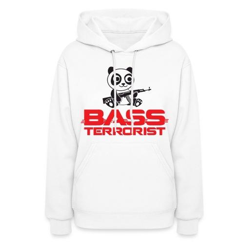Bass Terrorist Original Logo Edition - Women's Hoodie