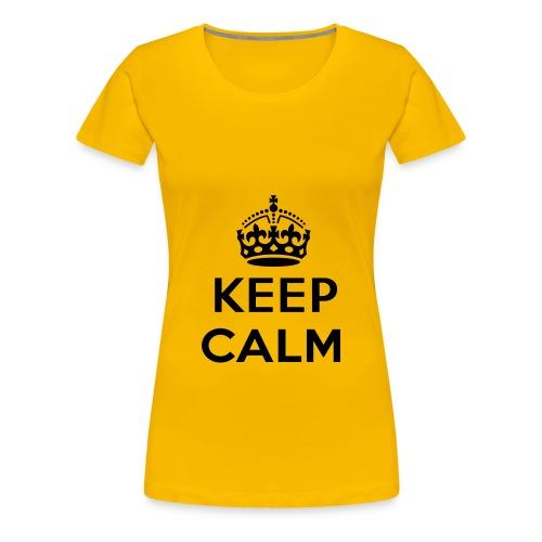 CalmTee - Women's Premium T-Shirt