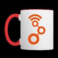 Mugs & Drinkware ~ Contrast Coffee Mug ~ GNU Radio Cup