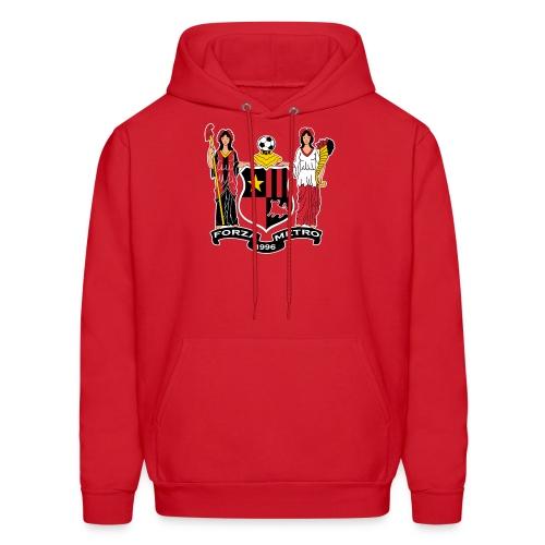 Forza Metro NJ Crest Men's Hoodie - Men's Hoodie