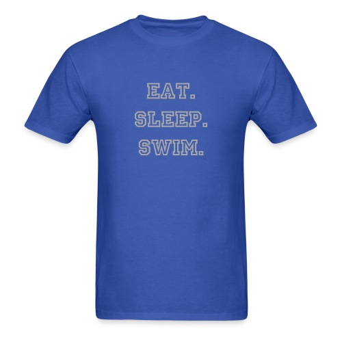 Eat. Sleep. SWIM Men's tee - Men's T-Shirt