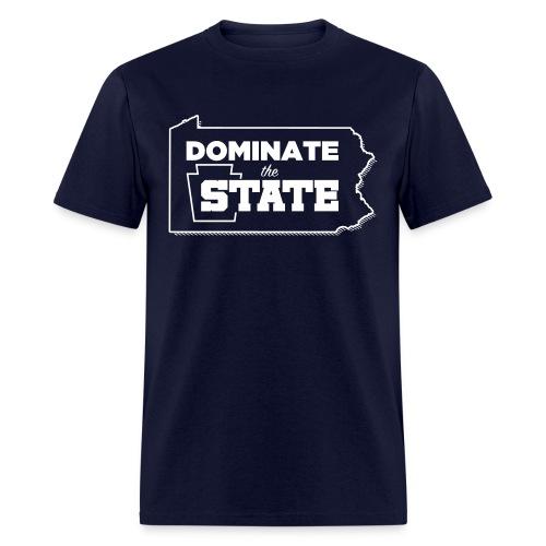 Dominate The State Men's T-Shirt - Men's T-Shirt