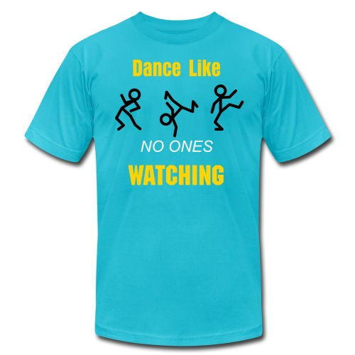 Dance Like NO ONE - Men's Fine Jersey T-Shirt