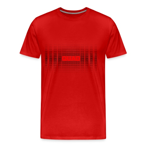 AirBorne Racing Quad Tee - Men's Premium T-Shirt