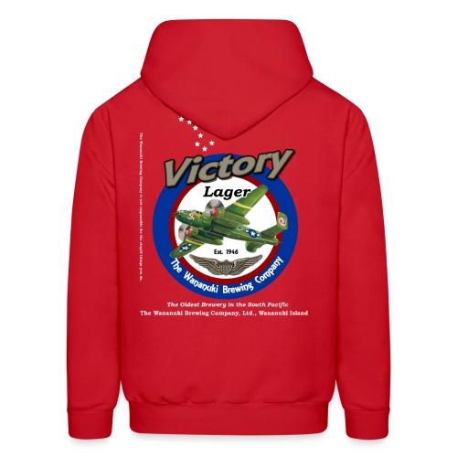 Victory Lager hoodie - Men's Hoodie
