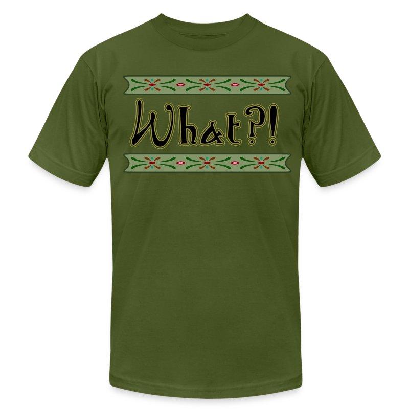 What?! - Men's Fine Jersey T-Shirt