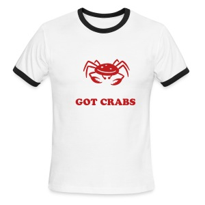 GOT CRABS - Men's Ringer T-Shirt