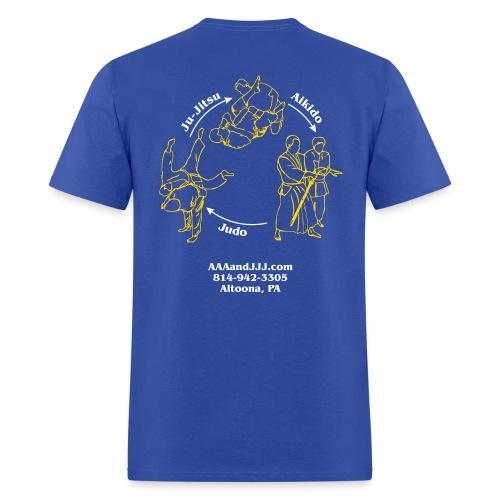 Men's standard t-shirt white/gold logo white/gold artwork - Men's T-Shirt