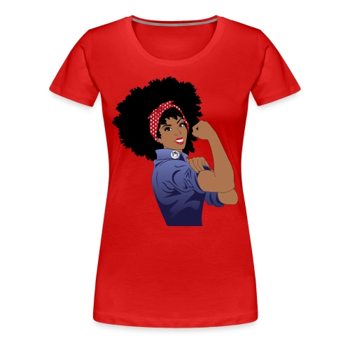 Naturally Revolutionary  - Women's Premium T-Shirt