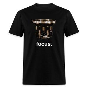Focus Photo Tee - Men's T-Shirt