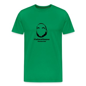 Men's - #fatheroftheyear - Vine Green - Men's Premium T-Shirt