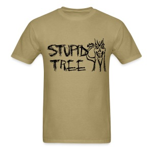 Stupid Tree Disc Golf Shirt - Black Print - Standar Shirt - Men's T-Shirt